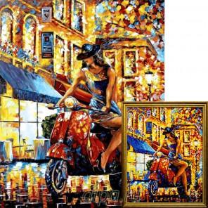 Авантюристка Алмазная вышивка мозаика Гранни