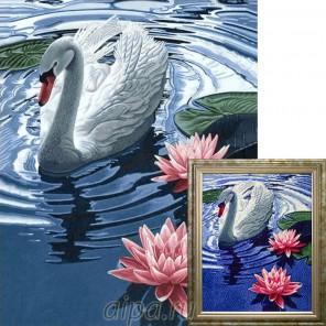 Готовая работа Могучий конь Алмазная вышивка мозаика Гранни Принцесса-лебедь Алмазная вышивка мозаика Гранни