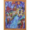 Раскладка Городская мозаика Алмазная мозаика на подрамнике