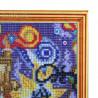Пропечатанный багет Городская мозаика Алмазная мозаика на подрамнике