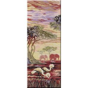 Триптих Слоны 1 часть Набор для вышивания МП Студия