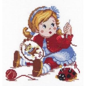 Вышивальщица Набор для вышивания МП Студия
