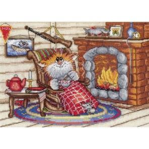 Уютный вечер Набор для вышивания МП Студия