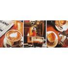 Кофе. Триптих Раскраска картина по номерам на холсте