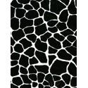 Кракелюр черный крупный Бумага для декопатча Decopatch