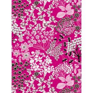 Кустарник на розовом Бумага для декопатча Decopatch