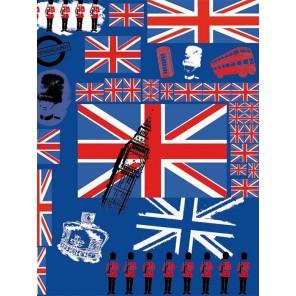 Англия Бумага для декопатча Decopatch