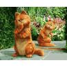Отражение кота Раскраска картина по номерам на холсте