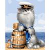 Бывалый моряк Раскраска картина по номерам на холсте