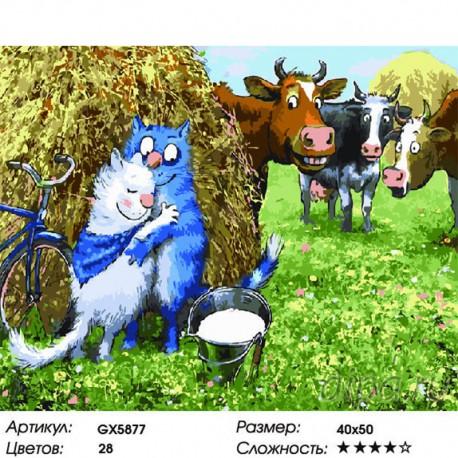 Количество цветов и сложность Белоснежная любовь Раскраска картина по номерам на холсте