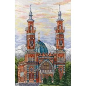 Владикавказская соборная мечеть Набор для вышивания МП Студия