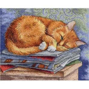 Кот ученый Набор для вышивания МП Студия