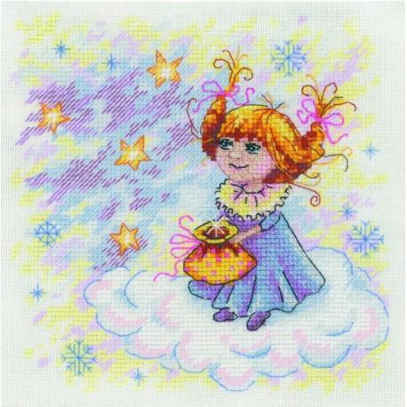 Рождественский ангел Набор для вышивания МП Студия