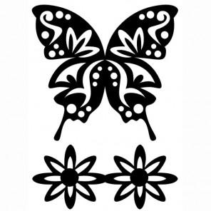 Бабочка роскошная Трафарет 30591 FolkArt Plaid