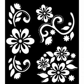 Флора роскошная Трафарет 30599 FolkArt Plaid