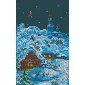 Зима Набор для вышивания бисером МП Студия