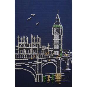 Лондон Набор для вышивания бисером МП Студия