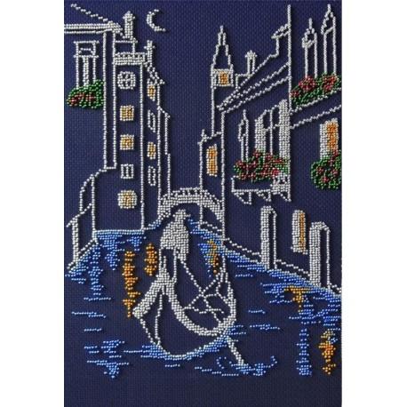 Венеция Набор для вышивания бисером МП Студия