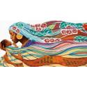 Мамина радость Канва с рисунком для вышивки бисером Конек