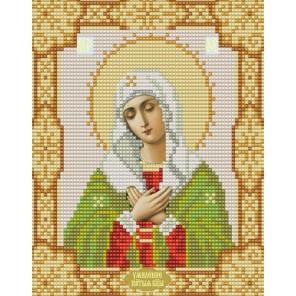 Богородица Умиление Канва с рисунком для вышивки бисером Конек
