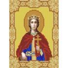 Святая Екатерина Канва с рисунком для вышивки бисером Конек