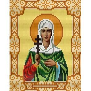 Святая Антонина Канва с рисунком для вышивки бисером Конек