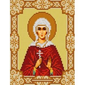 Святая Лидия Канва с рисунком для вышивки бисером Конек