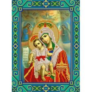 Богородица Милующая Канва с рисунком для вышивки бисером Конек