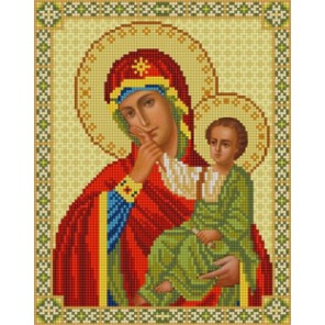 Богородица Отрада и Утешение Канва с рисунком для вышивки бисером Конек