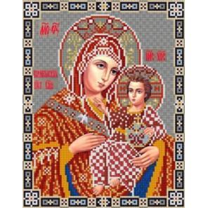 Богородица Вифлеемская Канва с рисунком для вышивки бисером Конек