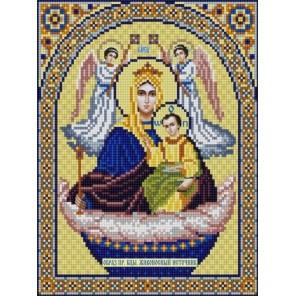 Богородица Живоносный источник Канва с рисунком для вышивки бисером Конек