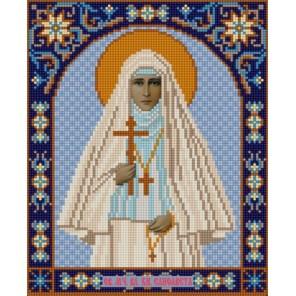 Святая Елизавета Канва с рисунком для вышивки бисером Конек