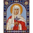 Святая Валерия Канва с рисунком для вышивки бисером Конек