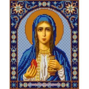 Святая Мария Магдалина Канва с рисунком для вышивки бисером Конек