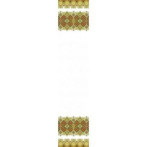 Рушник свадебный 1 Канва с рисунком для вышивки бисером Конек