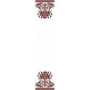 Рушник свадебный 4 Канва с рисунком для вышивки бисером Конек