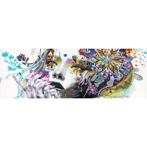 Сияние Канва с рисунком для вышивки бисером Конек