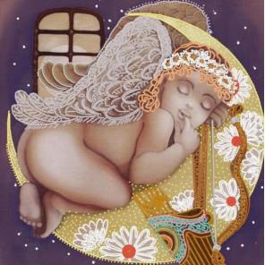 Сладкий сон Канва с рисунком для вышивки бисером Конек