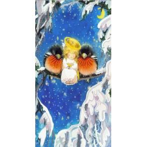 Зимний сон Канва с рисунком для вышивки бисером Конек
