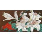 Лилейный микс Канва с рисунком для вышивки бисером Конек