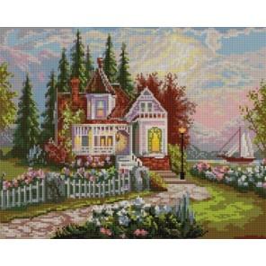 Дом мечты Канва с рисунком для вышивки бисером Конек