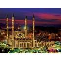Мечеть Сердце Чечни Канва с рисунком для вышивки бисером Конек