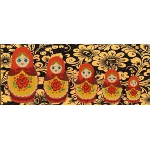 Матрешки Канва с рисунком для вышивки бисером Конек