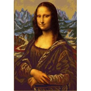 Джоконда Леонардо да Винчи Канва с рисунком для вышивки бисером Конек