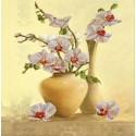 Орхидея Канва с рисунком для вышивки бисером Конек