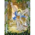 Ангел и голуби Канва с рисунком для вышивки бисером Конек