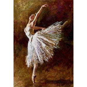 Балерина Канва с рисунком для вышивки бисером Конек