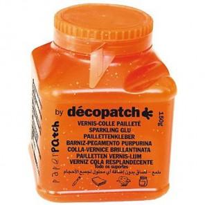 Клей-лак с блестками для декопатча  Decopatch Paper Patch 150г