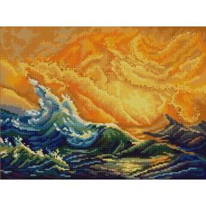 Девятый вал (И.Айвазовский) Канва с рисунком для вышивки бисером Конек