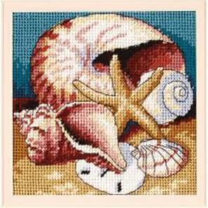 Коллекция ракушек 07219 Набор для вышивания Dimensions ( Дименшенс )